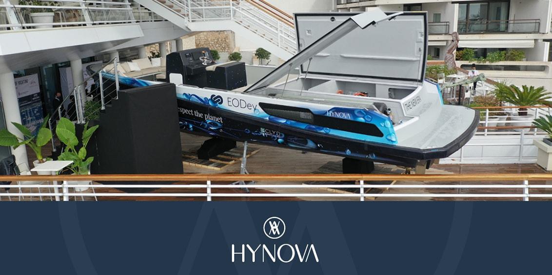 Article sur la première sortie du démonstrateur The New Era, pour le congrès organisé par le Yacht Club de Monaco